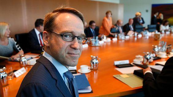 EZB verantwortlich für AfD-Erfolg?: Weidmann verteidigt Draghi