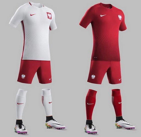 Ceci est le nouveau Maillots de football Euro 2016 de Équipe de Pologne de football.: