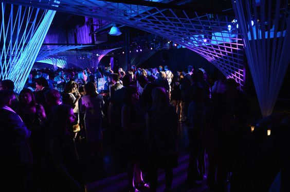 A view of atmosphere at the Whitney Museum Annual Art Party on May 1, 2013 in New York City.