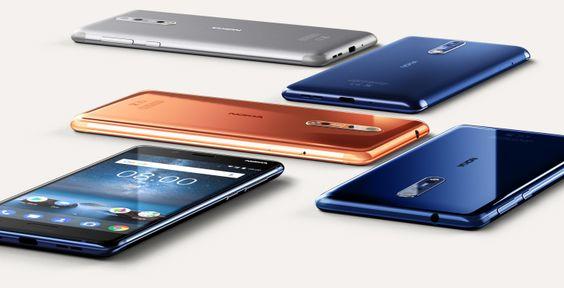 Nokia 8 Akıllı Telefon