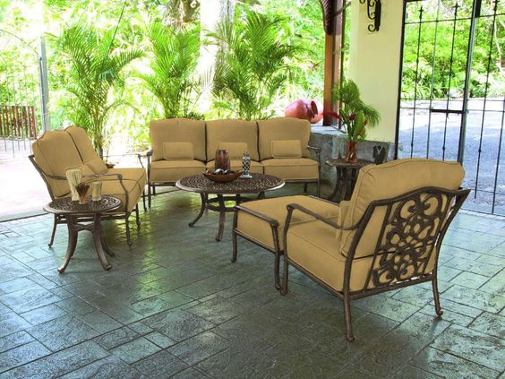 Shop for Castelle Sienna Deep Seating 8210T Set and other OutdoorPatio Outd