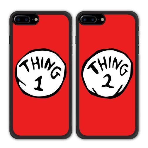 Schone Bester Freund Bff Thing One Zwei Telefonkasten Fur Apple Iphone X 8 Galaxy S8 S7 Bff Hullen Apple Iphone Beste Freunde Handyhullen