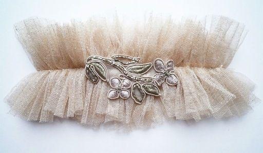 florrie mitton couture garter