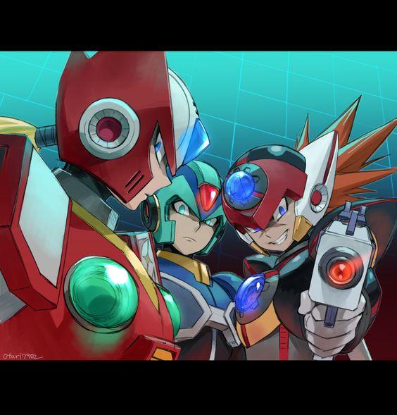 X I Think Someone S Watching Us Zero What Axl Not For Long They Aren T Eheheheh Mega Man Art Mega Man Character Wallpaper