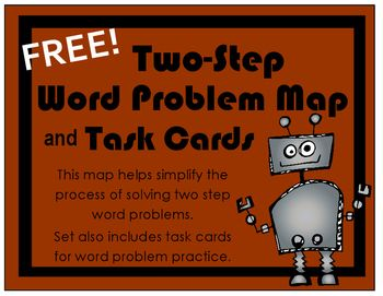 How to solve two step word problems