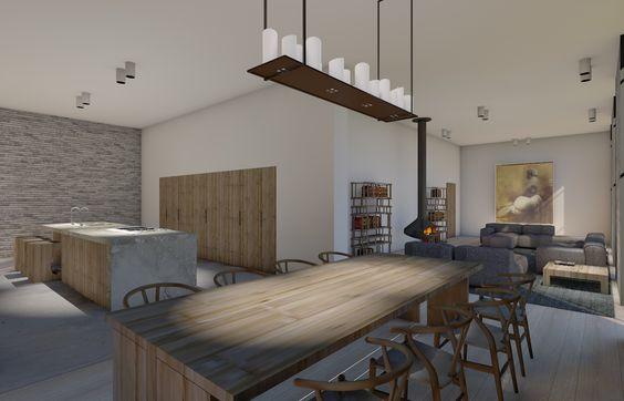 toscane villa renewal - vades interior design Wishbone chair - Carl Hansen en Son