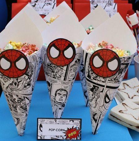 ideas para un cumpleaos de spiderman