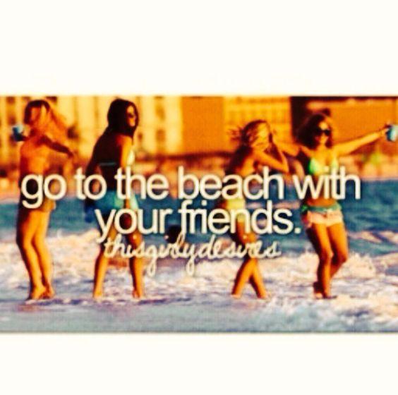 Beach summer fun