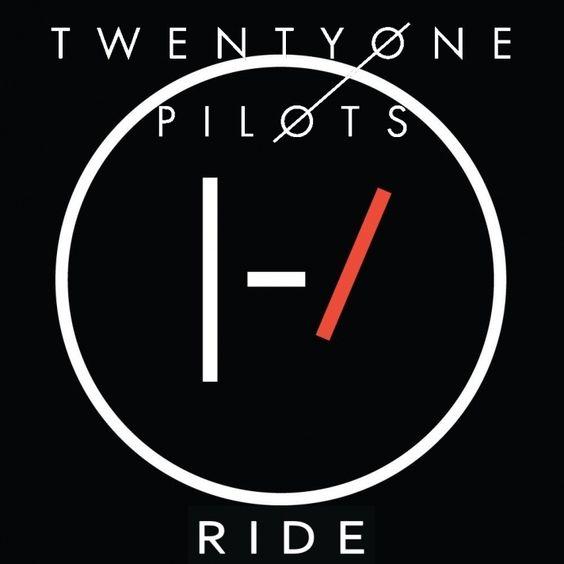 Twenty One Pilots – Ride (single cover art)