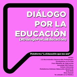 Diálogo por la educación