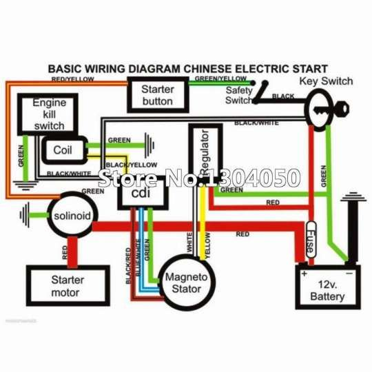 Wildfire Scooter Kick Stand Saftey Switch Wiring Diagram