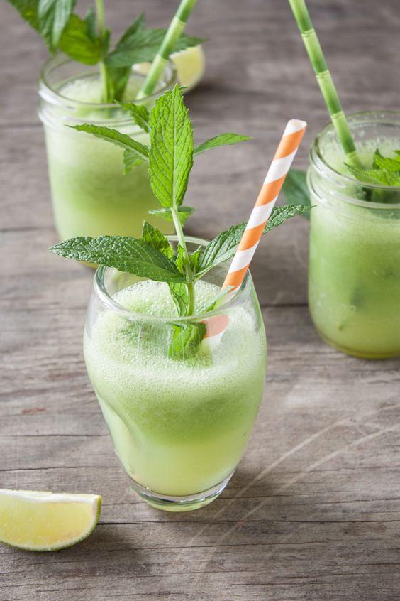 Cucumber-Lime Vodka Coolers