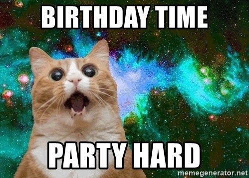 21 Cat Birthday Memes That Are Absolutely Purrrrfect Cat Birthday Memes Happy Birthday Funny Cats Happy Birthday Cat