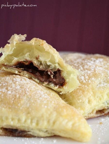 Nutella, Pockets and Pastries on Pinterest