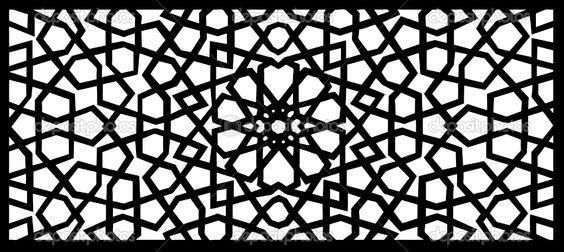 mosque pattern.