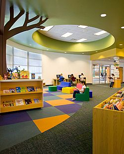 Libraries foundation and school design on pinterest for The interior design institute