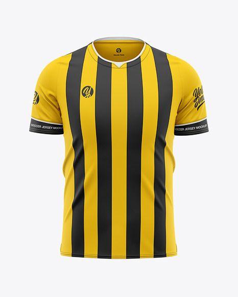 Download Men S Soccer Jersey Mockup Front View Football Jersey Soccer T Shirt In Apparel Mockups On Yellow Images Object Mockups Shirt Mockup Clothing Mockup Design Mockup Free
