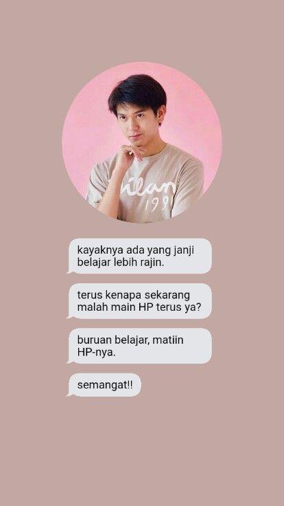 Jangan Main Hp Terus Dong Ehhhe Quotes Wallpaper
