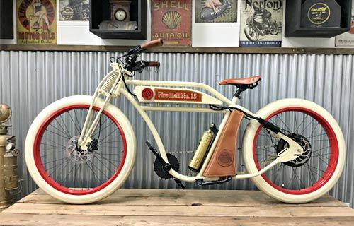 Vintage Iron Electric In 2020 Electric Bike Custom Electric Bike Electric Bike Conversion