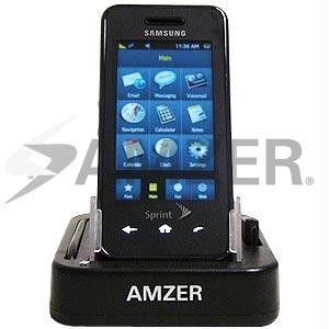Amzer Desktop Cradle with Extra Battery Charging Slot