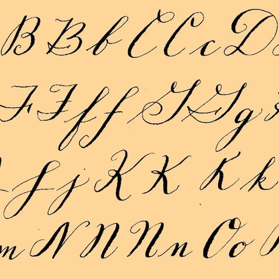 Fun And Fancy Calligraphy Alphabets Art Is You Your