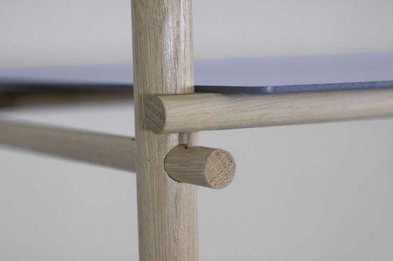 studioapart: andamio modular shelf assembly