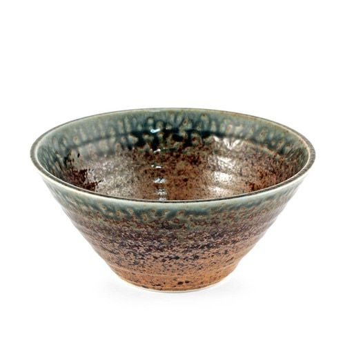 Ainagashi Blue Earthy Ridged Noodle Bowl 41 Fl Oz 7 75 Dia Noodle Bowls Bowl Healthy Soup Recipes