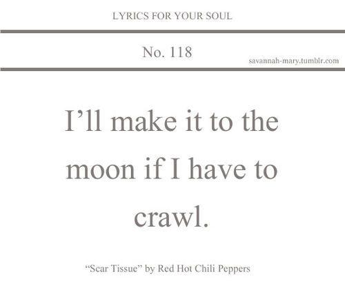 Red hot chili pepper lyric