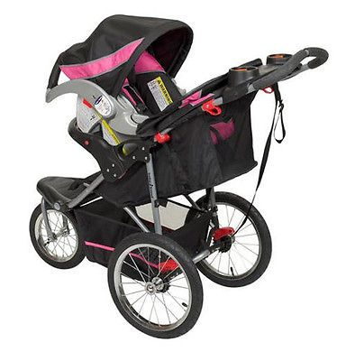 New Baby Trend Jogging Stroller Expedition Swivel Jogger Child ...