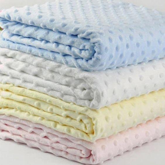 Fleece Newborn Baby Receiving Blanket