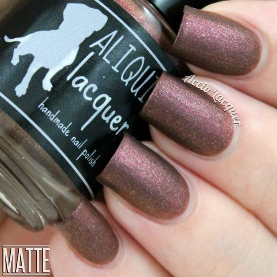 ALIQUID Lacquer Day Shall Come Again mattefied