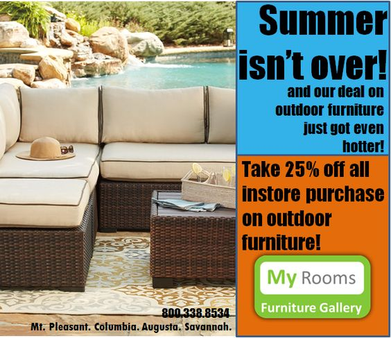 Outdoor Furniture Sale - Charleston Savannah Augusta