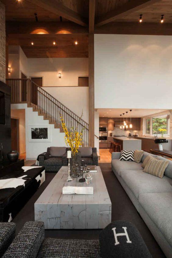 Loft Style In The Interior Loft Design Stairs Railings Ceilings Stair Railing Interior Design