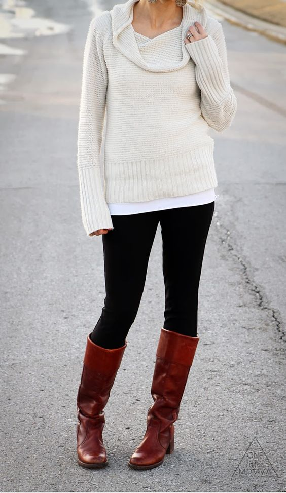 Fall styles, Vintage and Black knit on Pinterest