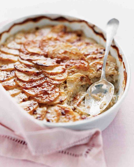 Scalloped Potatoes with Leeks | Recipe | The cheese, Days in and ...