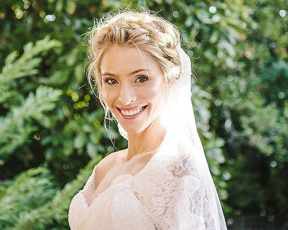 Penteados para noivas. #casamento #noivas #penteados