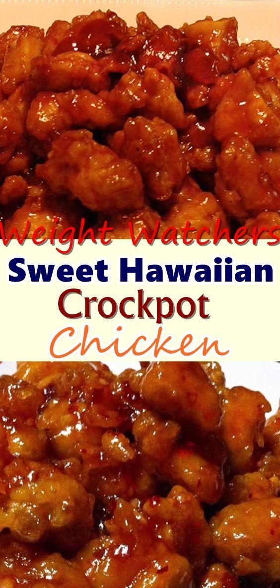 Sweet Hawaiian Crockpot Chicken Chicken Crockpot Recipes Sweet Hawaiian Crockpot Chicken Recipe Recipes