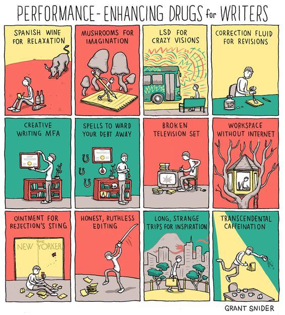 Performance-Enhancing Drugs for Writers - Writers Write Creative Blog