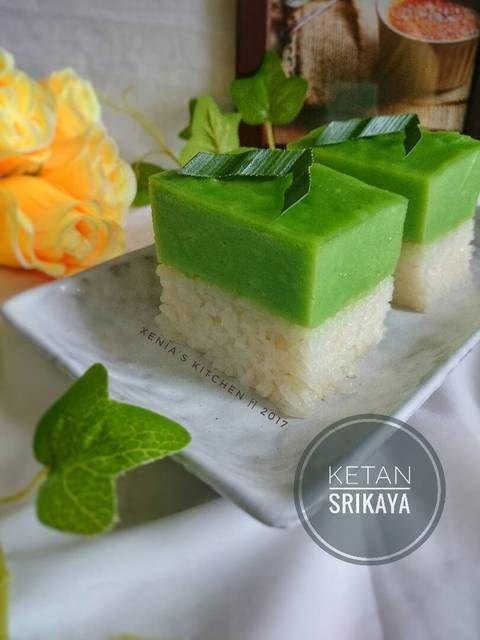 Ketan Srikaya Kuih Serimuka Kue Sarawak By Xenia Sari Resep Aneka Jajan Pasar Di 2020 Resep Menggoreng