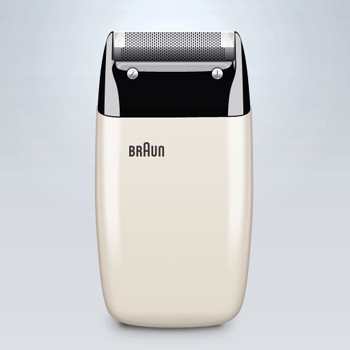 old braun electric shavers