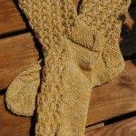 Socken Die Dünen von Tinfou