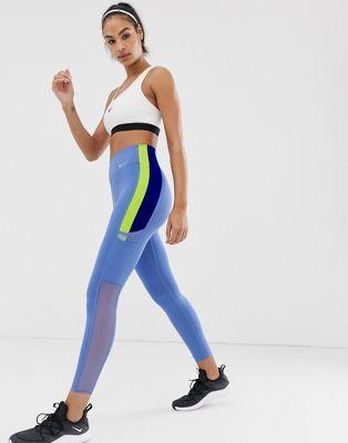 Nike Training Colourblock Leggings In