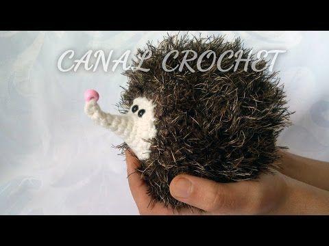 Schema per riccio amigurumi video tutorial cucito for Idee creative uncinetto