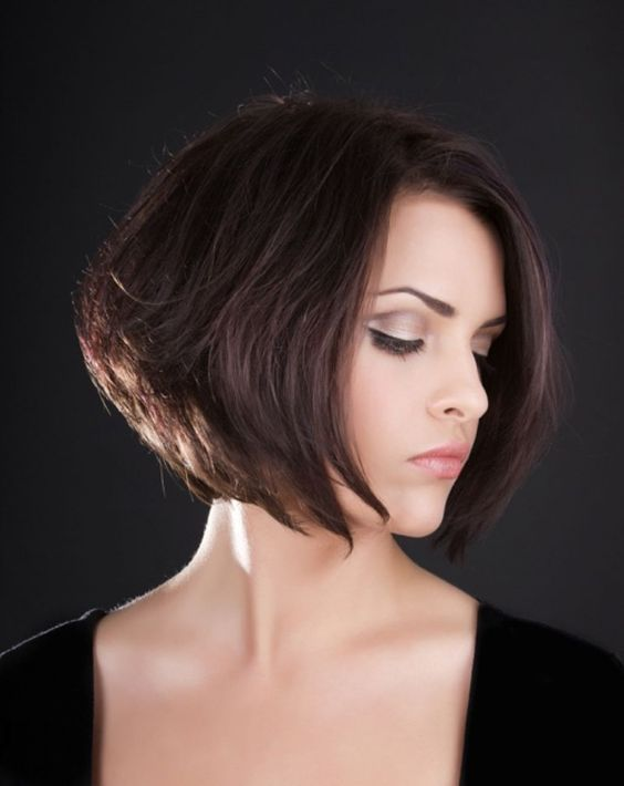 inverted bob with bangs - Google Search