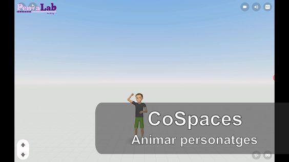 CoSpaces – Animar personatges