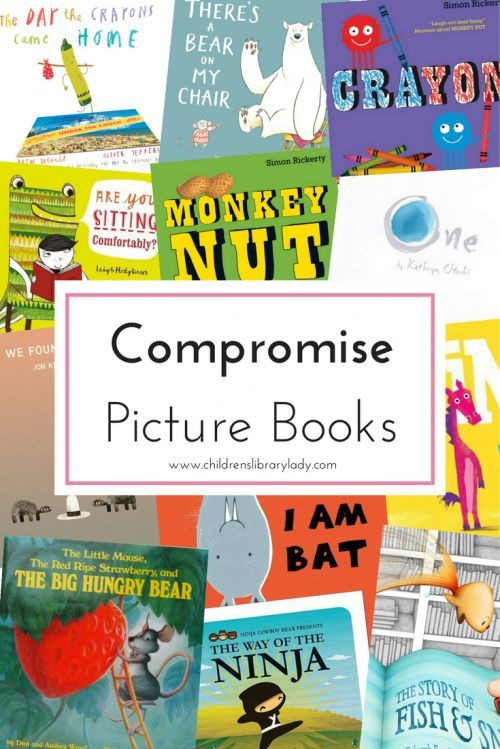 Compromise picture book list   There's A Book About That