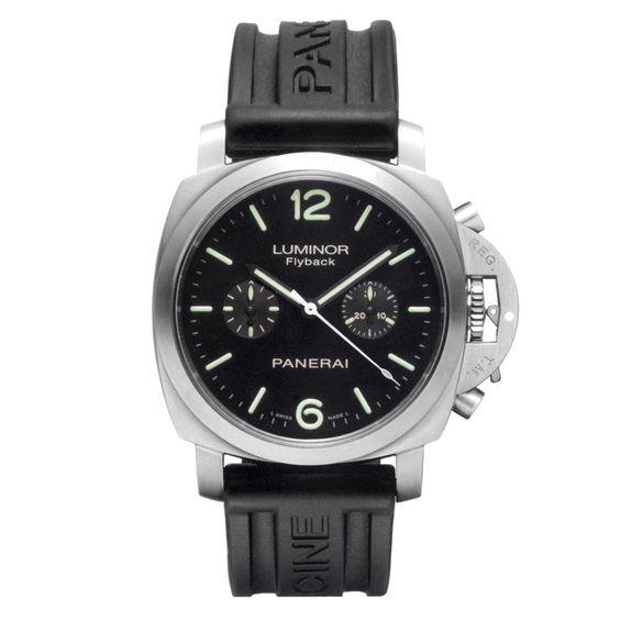Panerai Luminor 1950 Flyback Chrono Stainless Steel Men`s Watch