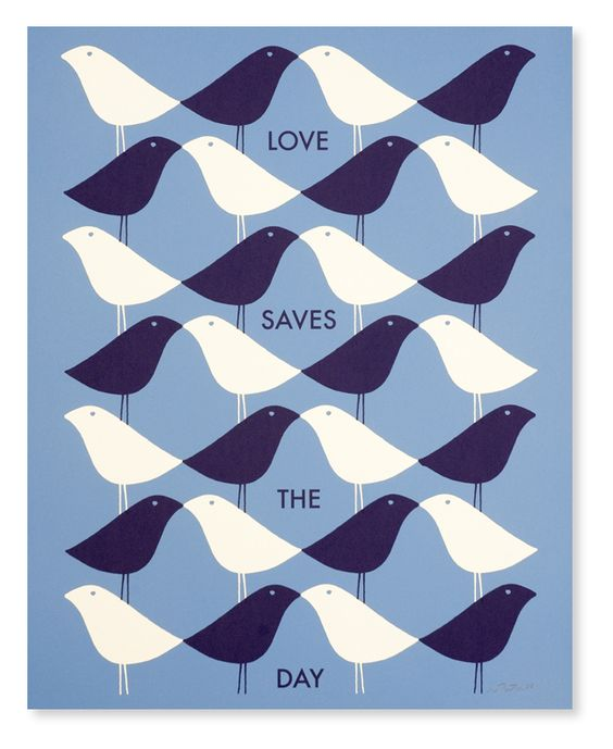 love saves the day... I think my wife designed this with her mind!