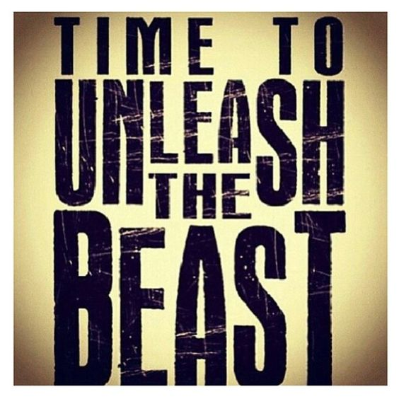 No better way to unleash the Beast than with a little Body Beast!!  Beast up!