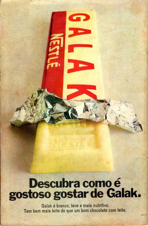 Contra capa de gibis 1970: